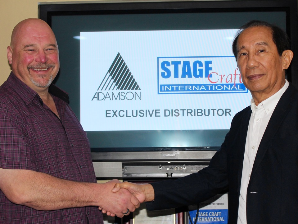 Adamson Selects Stage Craft as Distribution Partner for Philippines