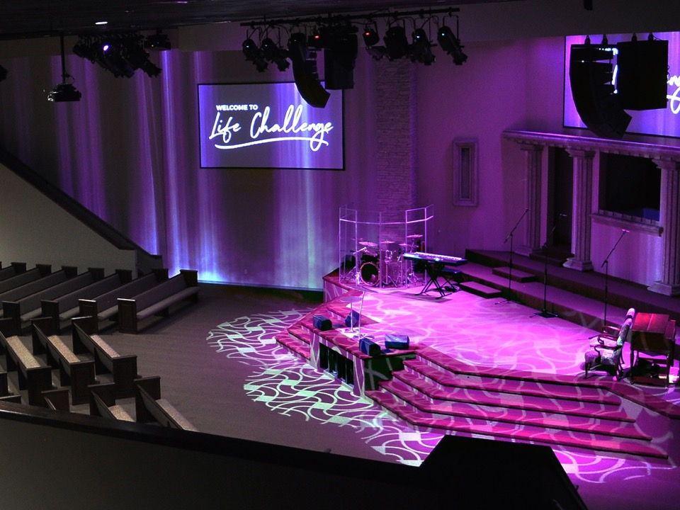 Adamson IS-Series Delivers Optimal Solution for Life Challenge Church