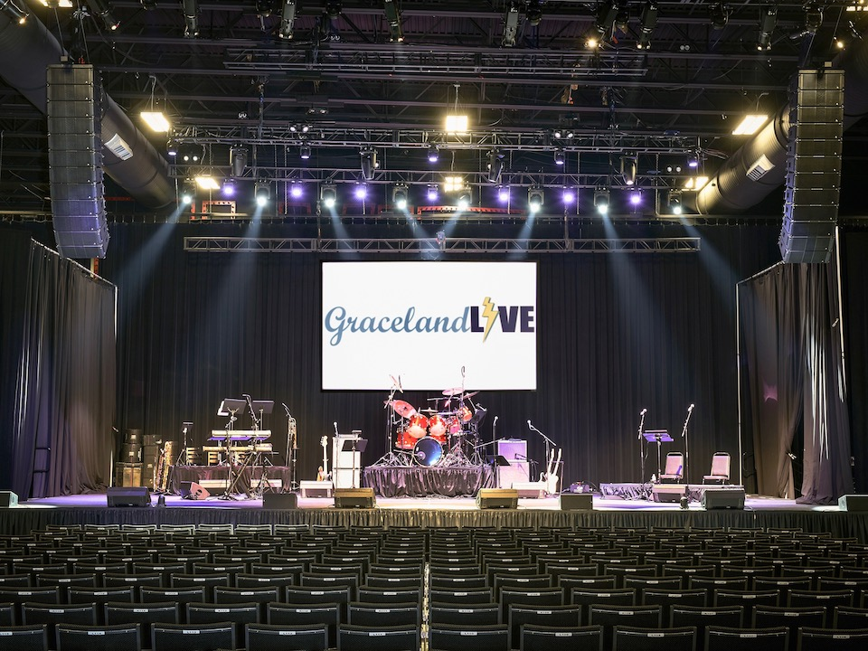 Graceland Soundstage Keeps the Music Alive with Adamson